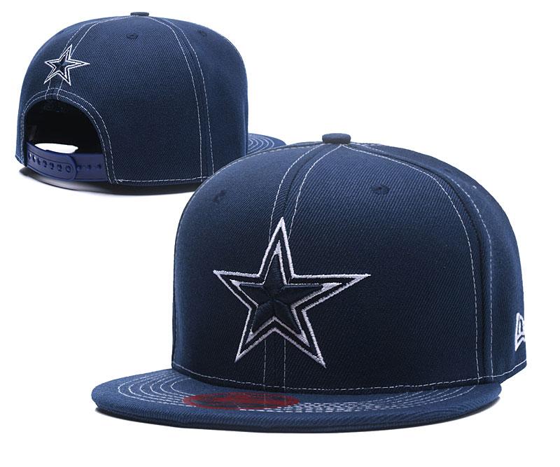 Cowboys Fresh Logo Blue Cloth Adjustable Hat LT