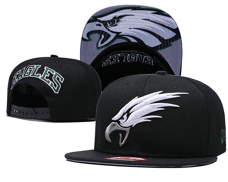 Eagles Team Black Adjustable Hat GS