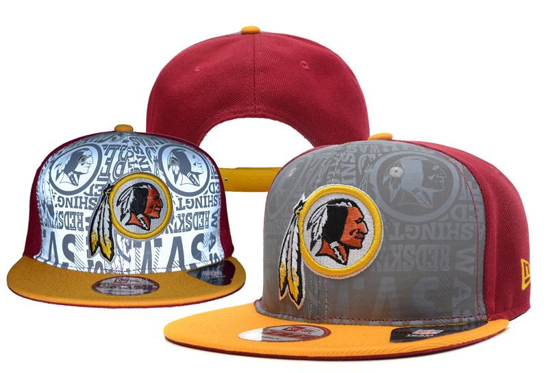 Redskins Team Logo Red Adjustable Hat YD