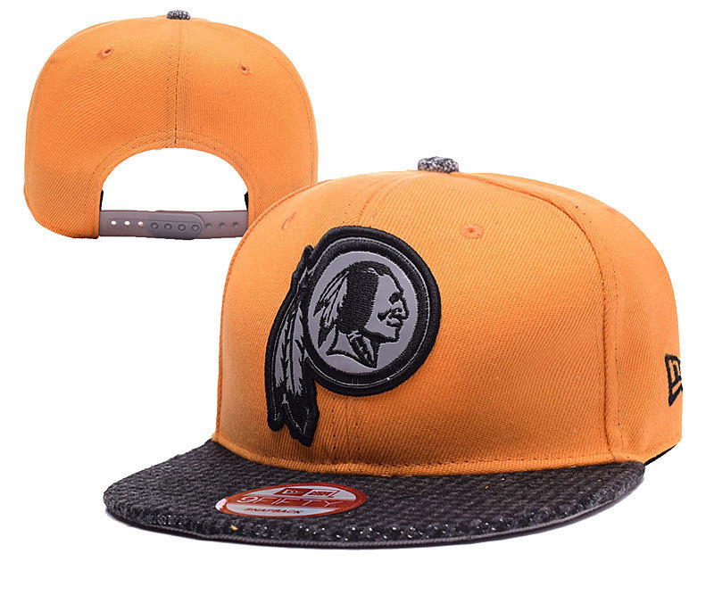Redskins Team Logo Yellow Adjustable Hat YD
