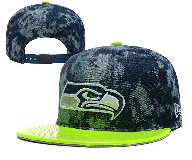 Seahawks Fresh Logo Green Adjustable Hat YD