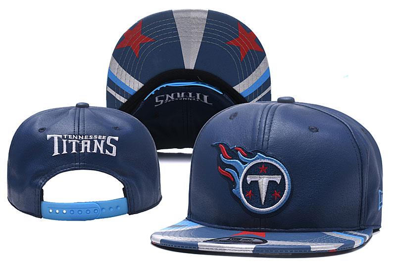 Titans Fresh Logo Navy Adjustable Hat YD