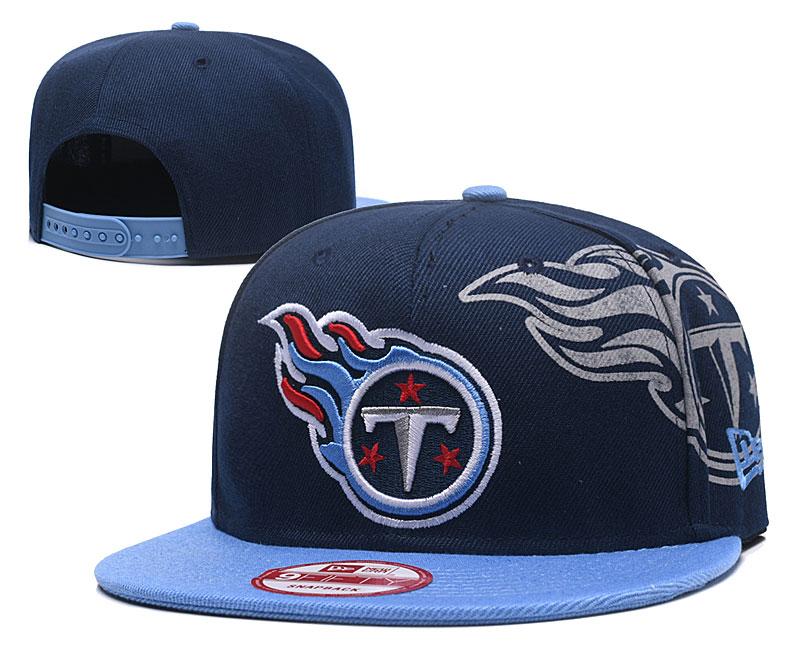 Titans Team Logo Navy Blue Adjustable Hat GS