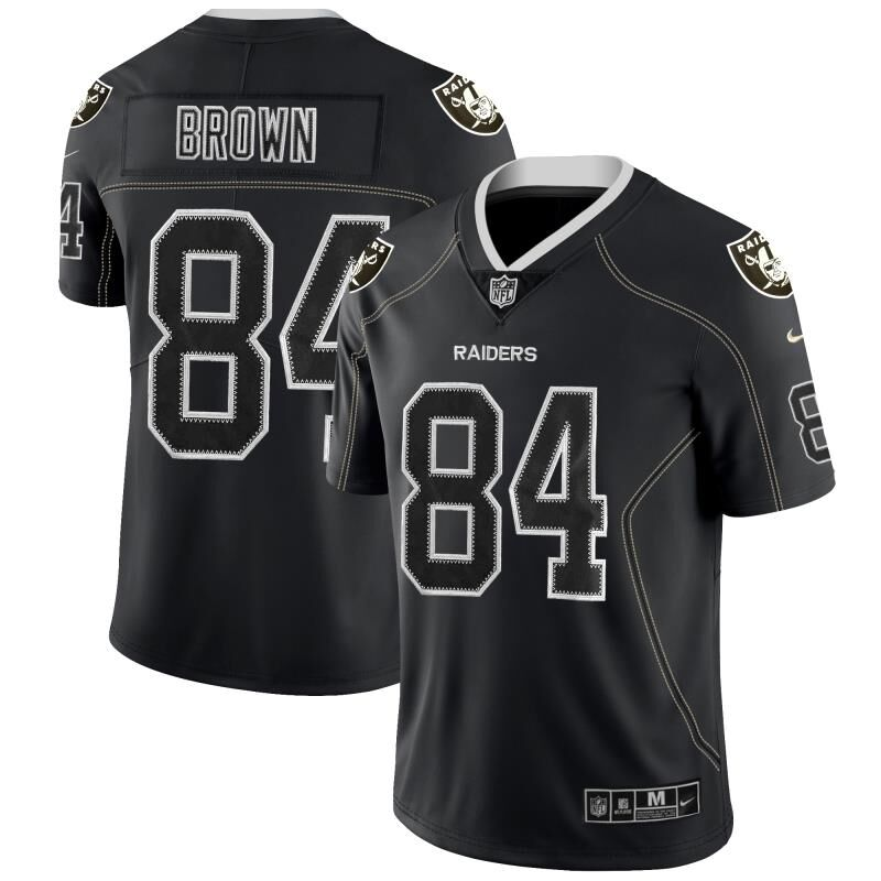 Nike Raiders 84 Antonio Brown Black Shadow Legend Limited Jersey