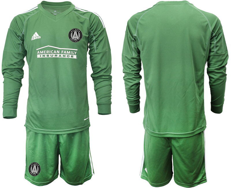 2019-20 Atlanta United FC Army Green Long Sleeve Goalkeeper Soccer Jersey