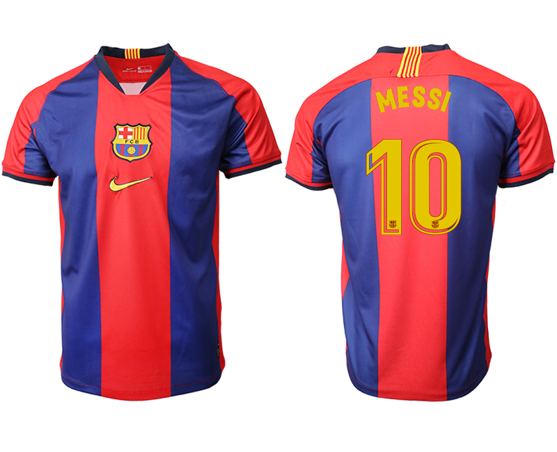 2019-20 Barcelona 10 MESSI Home Thailand Soccer Jersey