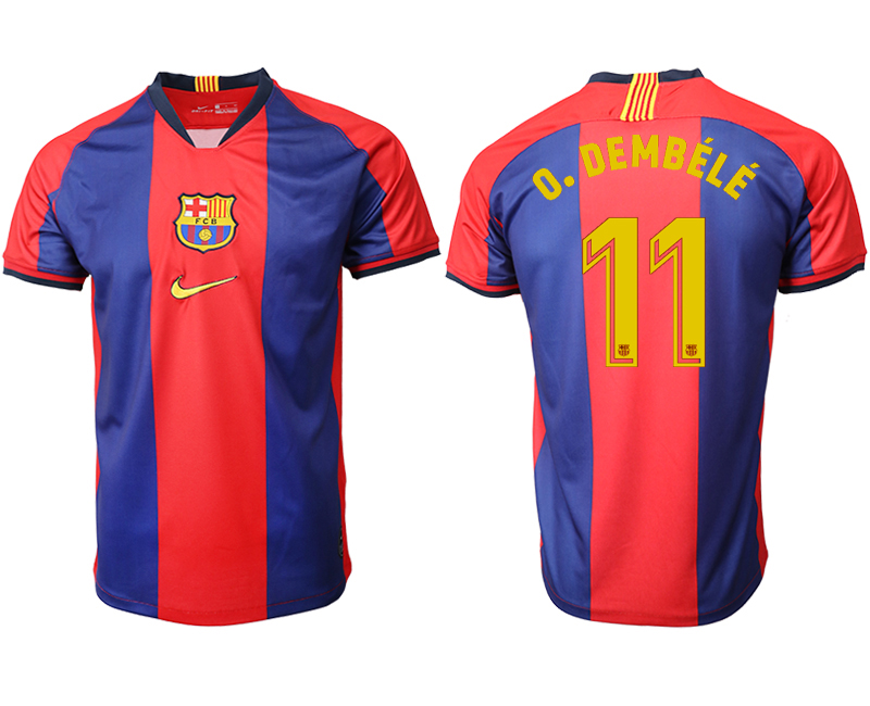 2019-20 Barcelona 11 O. DEMBELE Home Thailand Soccer Jersey