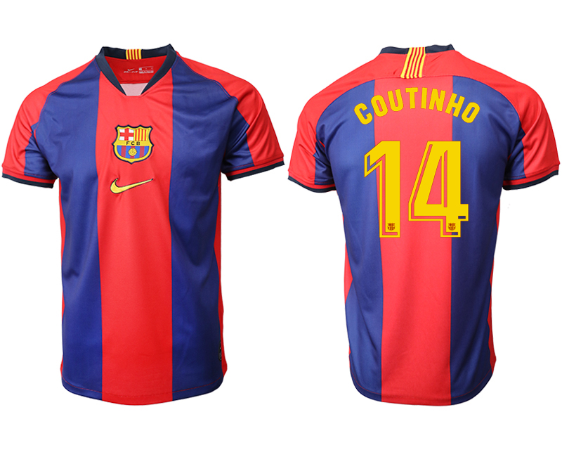 2019-20 Barcelona 14 COUTINHO Home Thailand Soccer Jersey