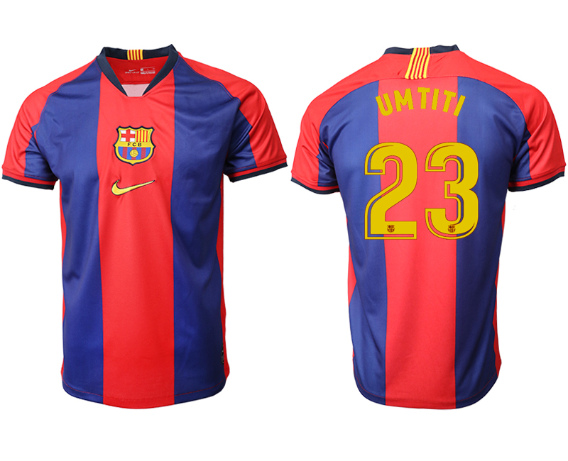 2019-20 Barcelona 23 UMTITI Home Thailand Soccer Jersey