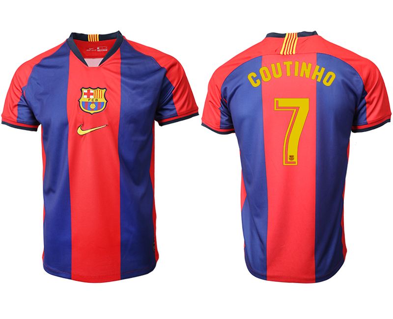 2019-20 Barcelona 7 COUTINHO Home Thailand Soccer Jersey