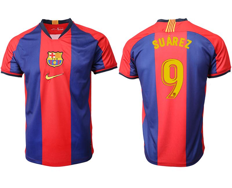 2019-20 Barcelona 9 SUAREZ Home Thailand Soccer Jersey