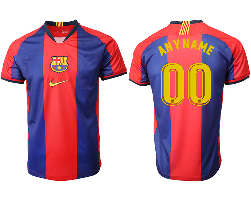 2019-20 Barcelona Customized Home Thailand Soccer Jersey