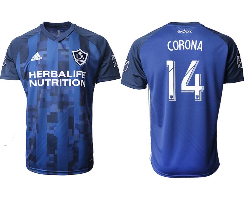 2019-20 Los Angeles Galaxy 14 CORONA Away Thailand Soccer Jersey