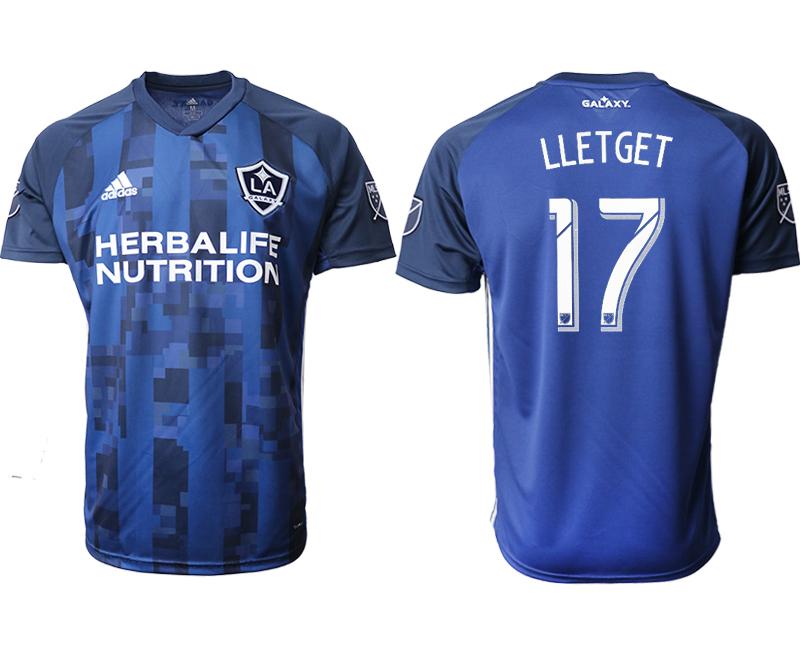 2019-20 Los Angeles Galaxy 17 LLETGET Away Thailand Soccer Jersey