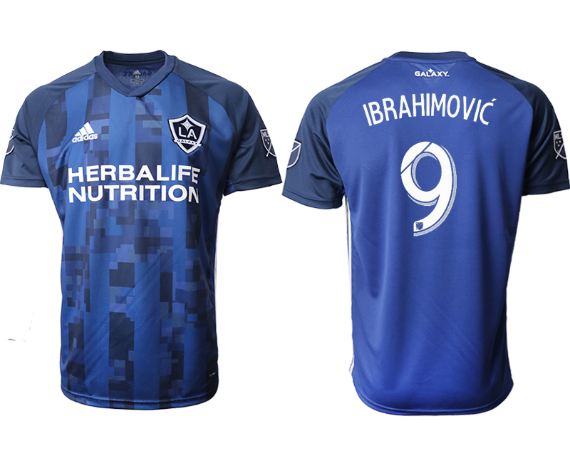 2019-20 Los Angeles Galaxy 9 IBRAHIMOVIC Away Thailand Soccer Jersey