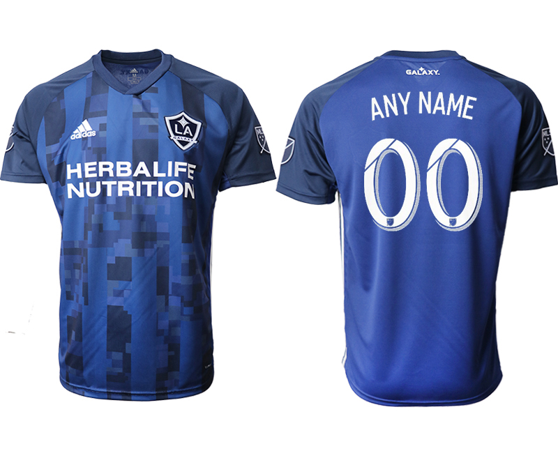 2019-20 Los Angeles Galaxy Customized Away Thailand Soccer Jersey