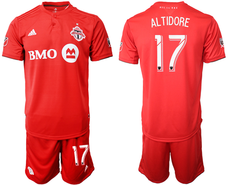 2019-20 Toronto FC 17 ALTIDORE Home Soccer Jersey