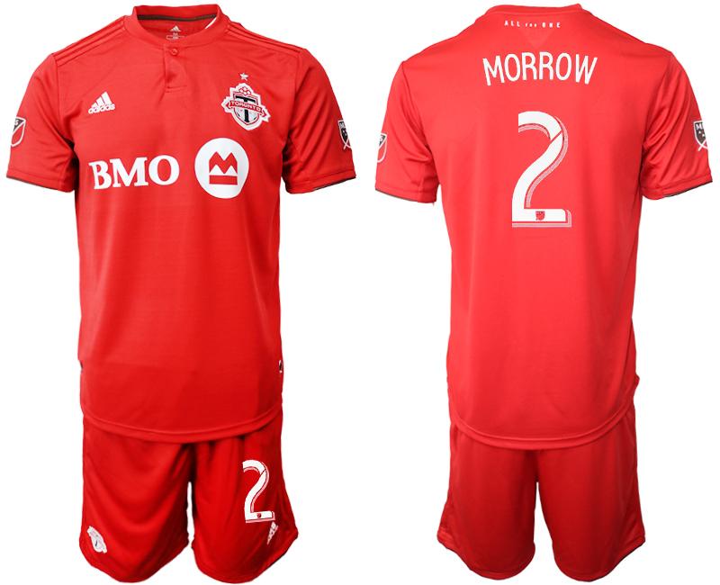 2019-20 Toronto FC 2 MORROW Home Soccer Jersey