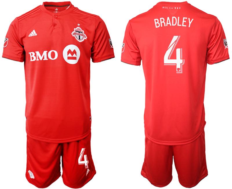2019-20 Toronto FC 4 BRADLEY Home Soccer Jersey