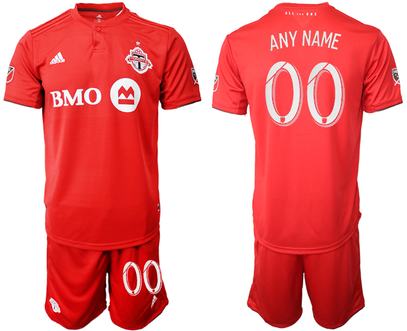 2019-20 Toronto FC Customized Home Soccer Jersey