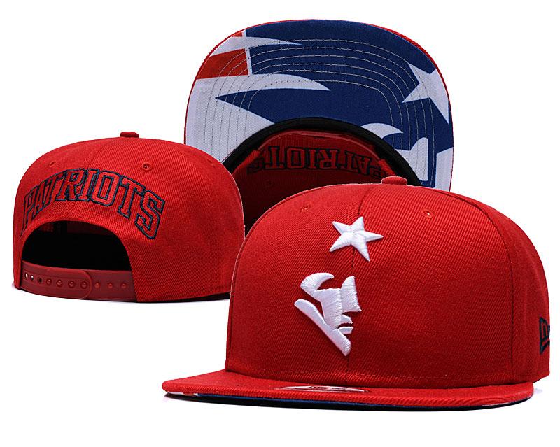 Patriots Team Logo Red Adjustable Hat GS