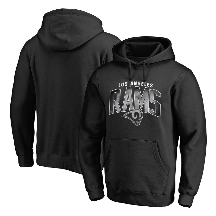 Los Angeles Rams NFL Pro Line by Fanatics Branded Arch Smoke Pullover Hoodie Black