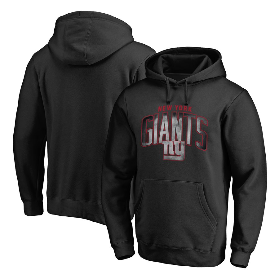 New York Giants NFL Pro Line by Fanatics Branded Arch Smoke Pullover Hoodie Black