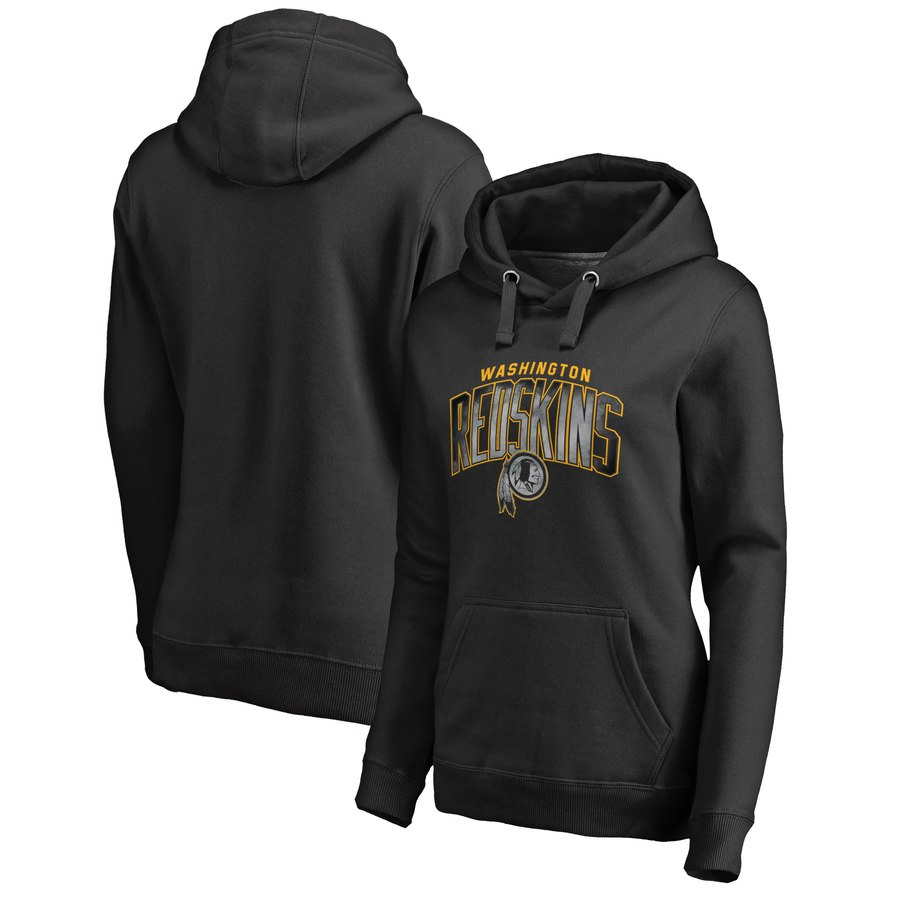Washington Redskins NFL Pro Line by Fanatics Branded Women's Plus Size Arch Smoke Pullover Hoodie