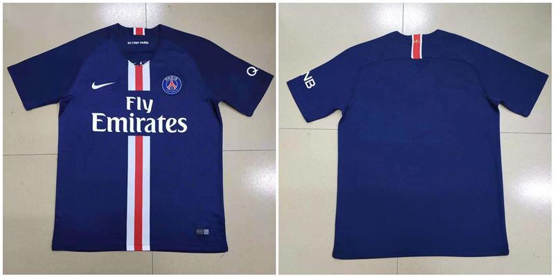 2019-20 Paris Saint-Germain Home Thailand Soccer Jersey