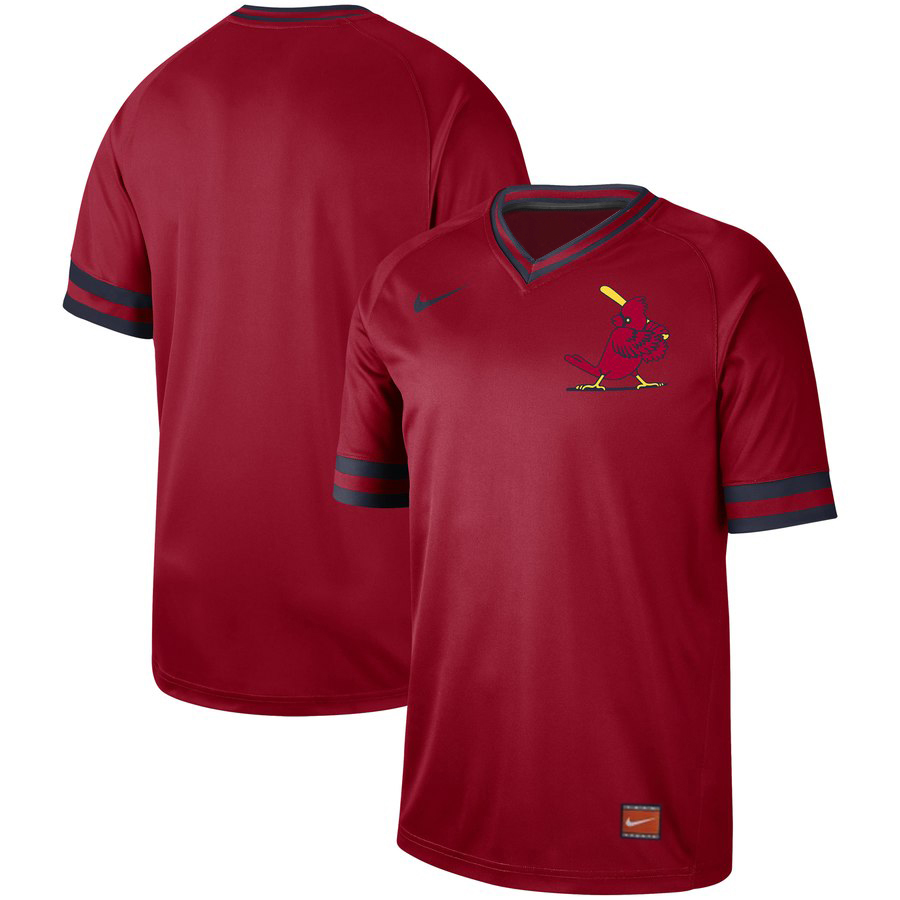 St. Louis Cardinals Blank Red Throwback Jersey