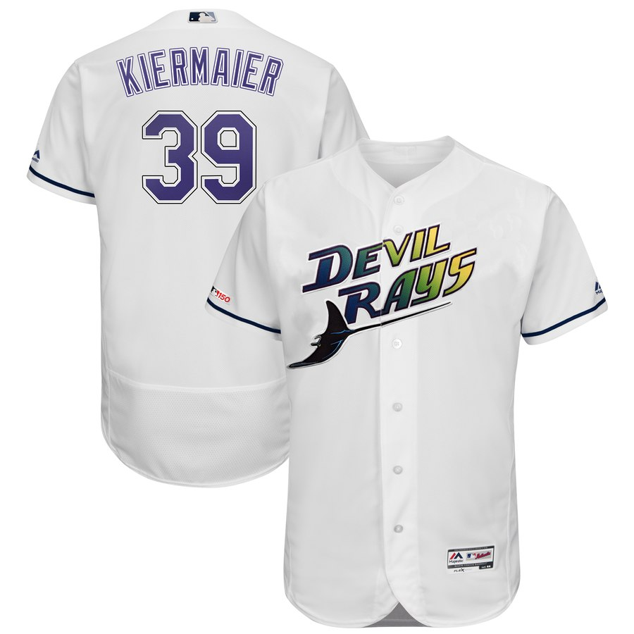 Rays 39 Kevin Kiermaier Turn Back The Clock 150th FlexBase Jersey