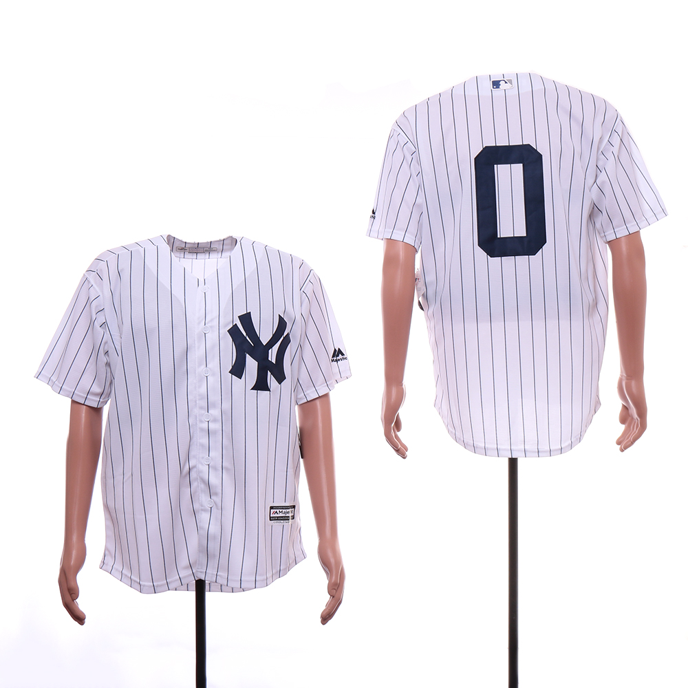 Yankees 0 Adam Ottavino White Cool Base Jersey