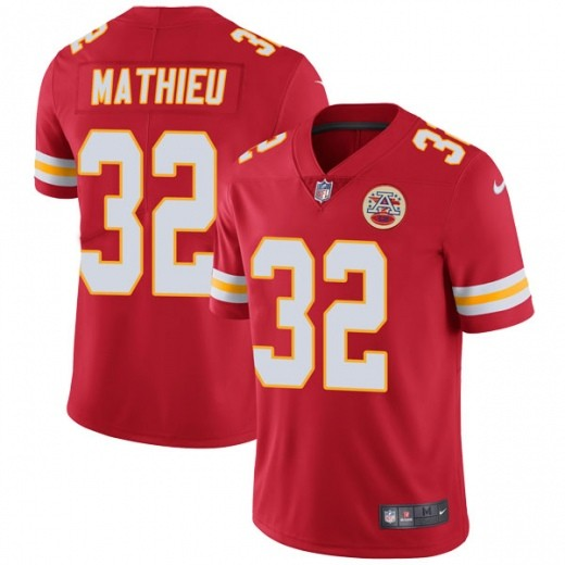 Chiefs 32 Tyrann Mathieu Red Vapor Untouchable Limited Jersey