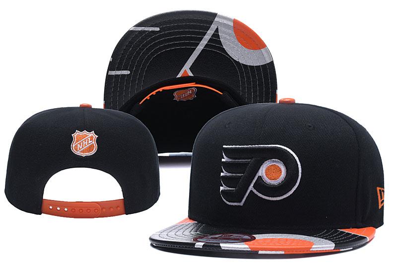 Flyers Team Logo Black Adjustable Hat YD