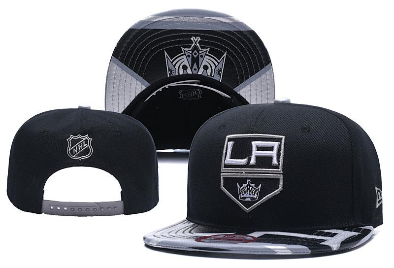 Los Angeles Kings Fresh Logo Black Adjustable Hat YD