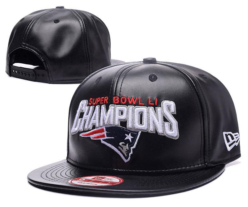 Patriots Fresh Logo Black Adjustable Hat GS
