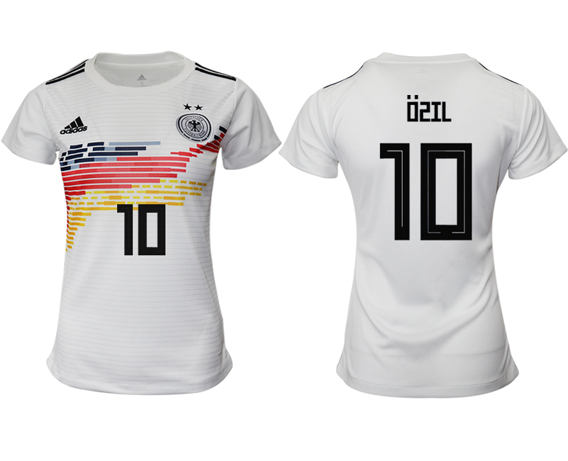 2019-20 Germany 10 OSIL Home Women Soccer Jersey