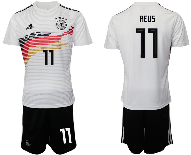 2019-20 Germany 11 REUS Home Soccer Jersey