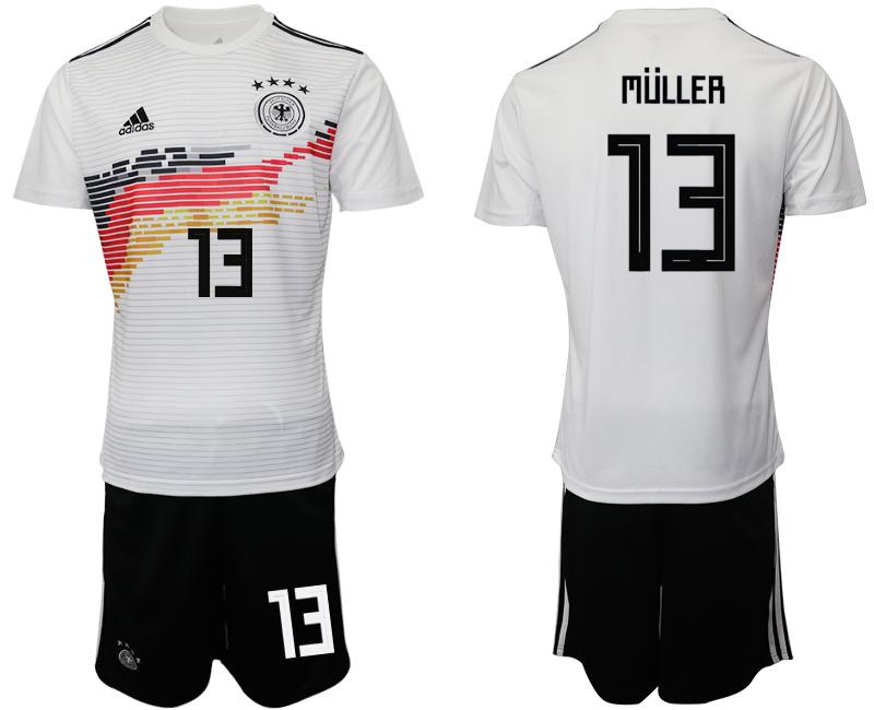 2019-20 Germany 13 MULLER Home Soccer Jersey