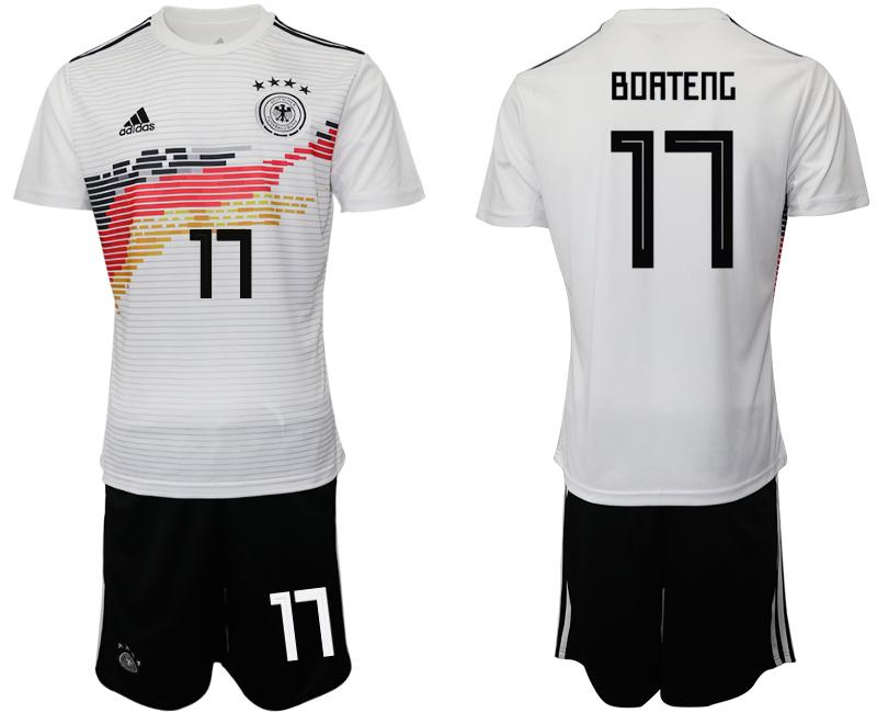 2019-20 Germany 17 BOATENG Home Soccer Jersey