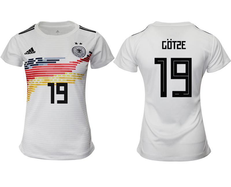 2019-20 Germany 19 GOTSE Home Women Soccer Jersey