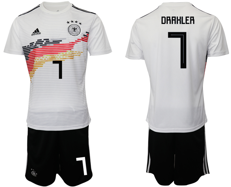 2019-20 Germany 7 DRAHLER Home Soccer Jersey
