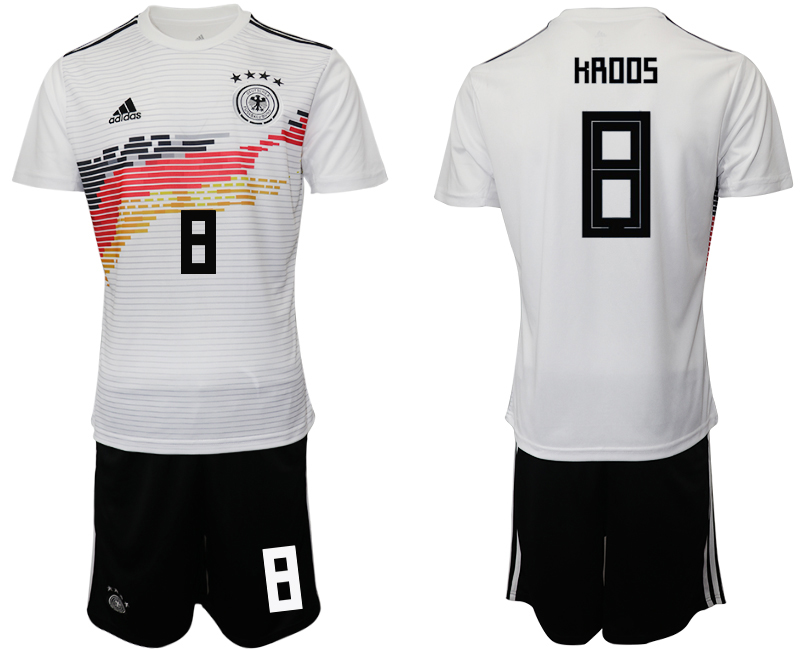 2019-20 Germany 8 HROOS Home Soccer Jersey