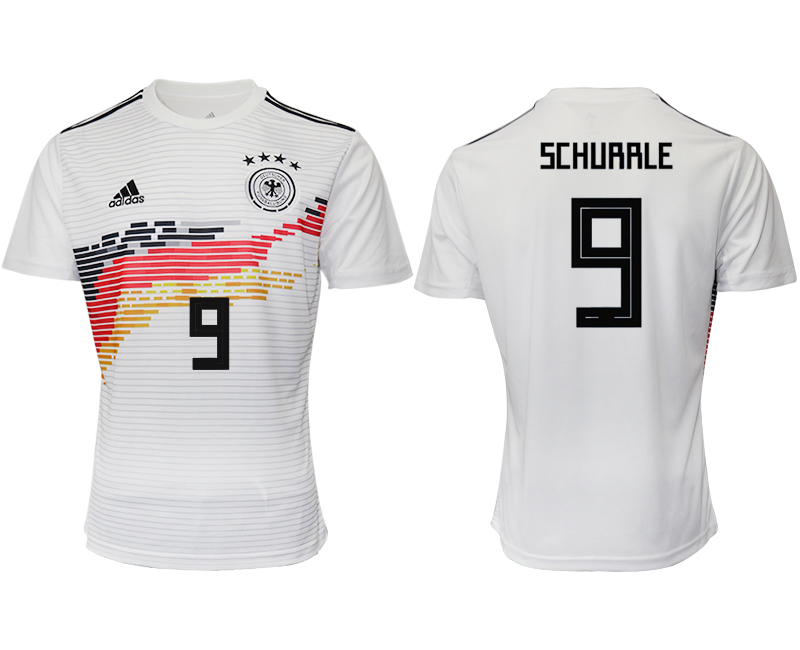 2019-20 Germany 9 SCHURRLE Home Thailand Soccer Jersey