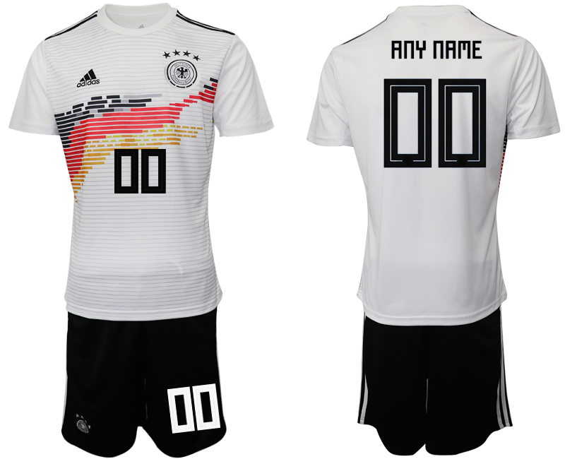 2019-20 Germany Customized Home Soccer Jersey