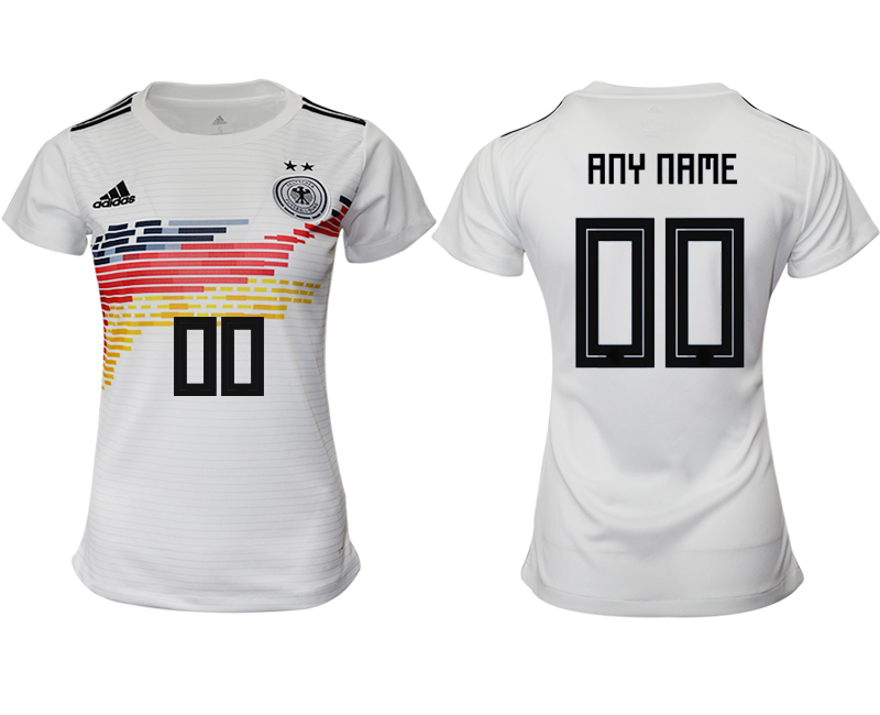 2019-20 Germany Customized Home Women Soccer Jersey