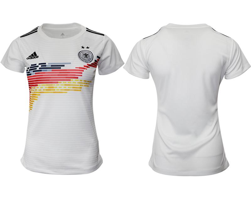 2019-20 Germany Home Women Soccer Jersey