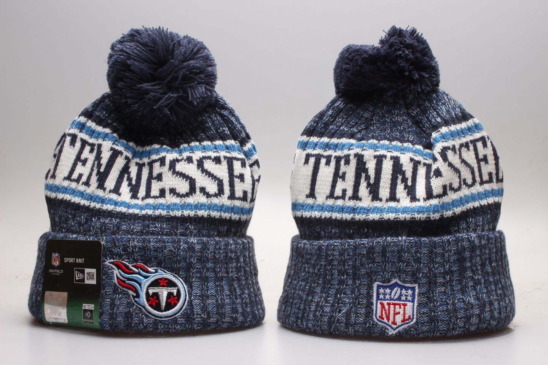 Titans Blue Sideline Sport Knit Hta YP