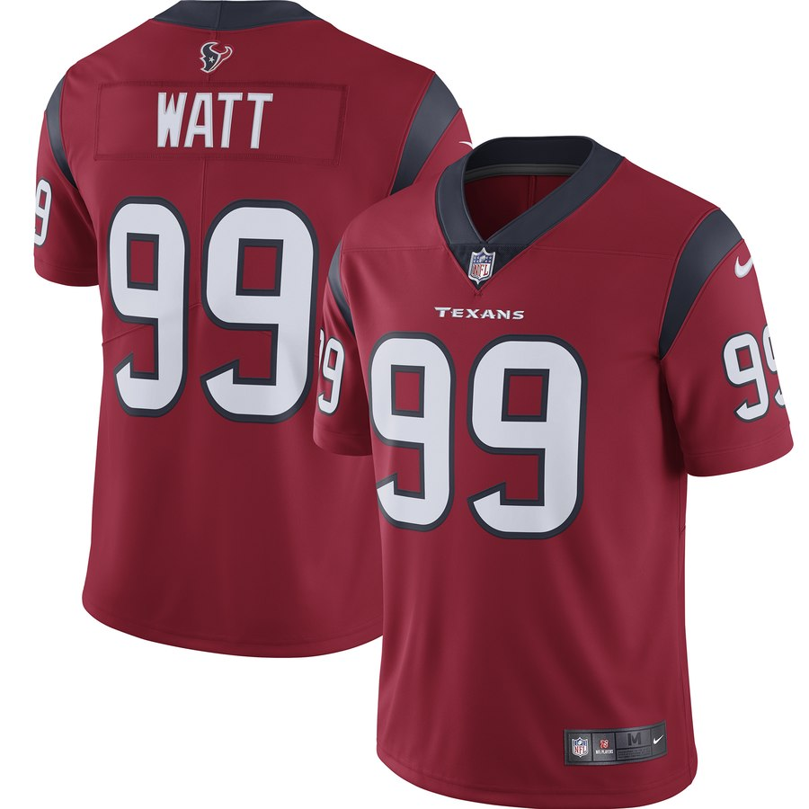 Nike Texans 99 J.J. Watt Red Youth New 2019 Vapor Untouchable Limited Jersey