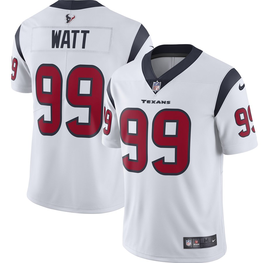Nike Texans 99 J.J. Watt White Youth New 2019 Vapor Untouchable Limited Jersey